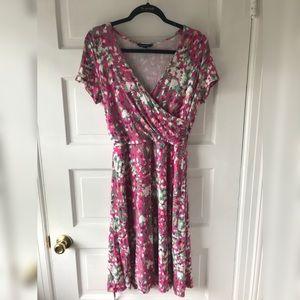 Lands' End floral dress